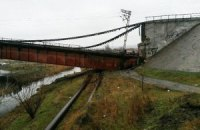 Бойовики підірвали міст через Сіверський Донецьк
