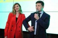 Зеленский переходит на особый режим работы из-за коронавируса у жены