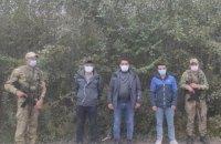 На Львівщині прикордонники двічі за тиждень затримали мігрантів з Туреччини