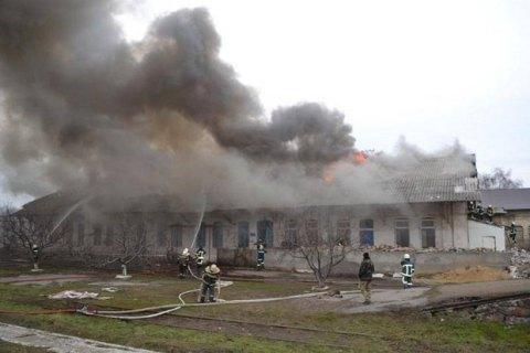 """На станции """"Одесса сортировочная"""" произошел пожар"""