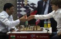 Карлсен едва не заставил Ананда капитулировать в матче за шахматную корону