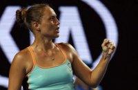 Украинка сенсационно обыграла россиянку на AusOpen