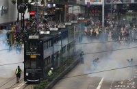 Поліція в Гонконзі застосувала сльозогінний газ проти учасників антиурядової акції
