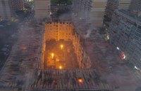 У Росії сталась масштабна пожежа у багатоповерхівці, згорів останній поверх