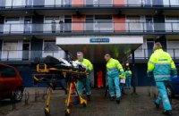 Під час пожежі у багатоповерхівці в Нідерландах постраждали 40 осіб