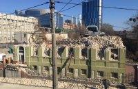 В Киеве открыли уголовное производство из-за сноса исторического здания Уткина