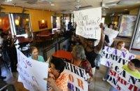 Работники американских фаст-фудов провели общенациональную забастовку