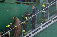 З італійського порома евакуювали всіх пасажирів