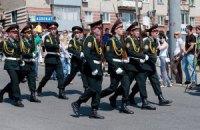 9 мая в Днепропетровске прошел Марш Победы