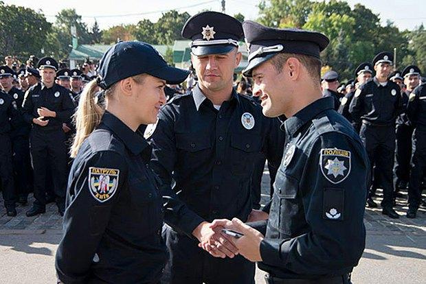 Фацевич и Ольга Юськевич, глава полиции Харькова