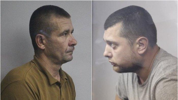 Іван Приходько (справа) і Володимир Петровець