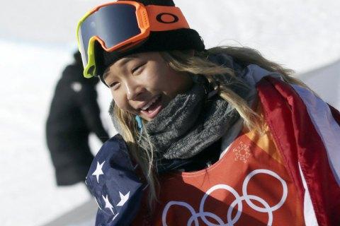 Американская сноубордистка Хлоя Ким стала олимпийской чемпионкой в хафпайпе