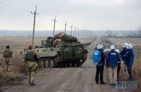 """Окупанти двічі обстріляли ділянку розведення військ """"Петрівське"""""""