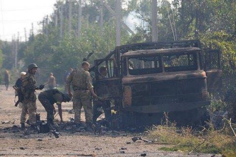 Уночі бойовики 50 разів обстріляли позиції українських військових