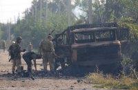 Ночью боевики 50 раз обстреляли позиции  украинских военных