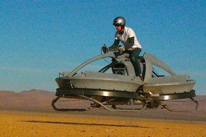 В США изобрели летающий мотоцикл