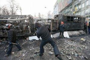Міліція висунула підозри 13 затриманим на Грушевського