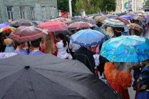 Завтра киянам обіцяють зливу