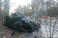 В Киеве на Оболони в ДТП погибли два человека