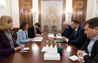 Єрмак провів зустріч із заступницею помічника Держсекретаря США з питань Європи та Євразії
