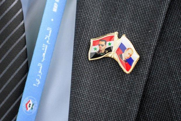 Значок участника Конгресс сирийского национального диалога