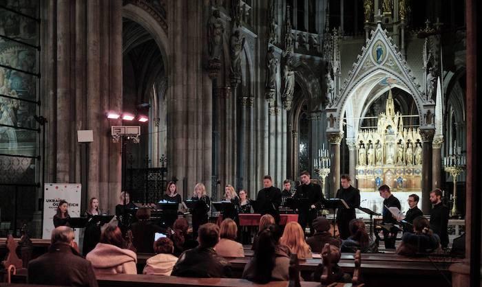 Концерт Alter Ratio в венской Votivkirche