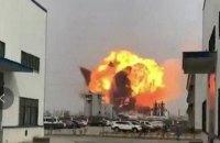 Количество жертв взрыва на китайском заводе увеличилось до 47 человек