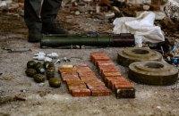 У районі військових дій на Донеччині виявили схрон бойовиків