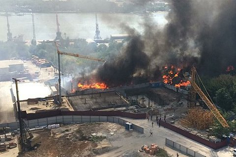 Режим НС через пожежу введено в усій Ростовській області