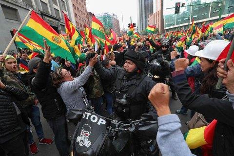 Мініреволюція в Болівії. Що після Моралеса?