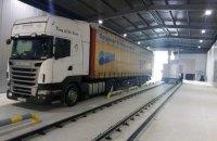 Митниця почала вводити в експлуатацію сканери для перевірки вантажівок