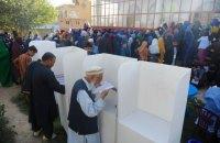 У день виборів у Афганістані на дільницях сталося 15 вибухів