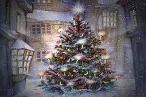 В Италии установили новогоднюю елку из пиявок