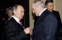 Сьогодні Путін і Лукашенко в Мінську обговорять ситуацію в Україні