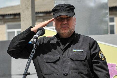 Турчинов: до введення віз росіян в Україну будуть пускати тільки за біометричними паспортами