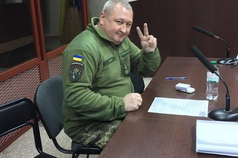 Суд не отпустил генерала Марченко на поруки депутатов, но снизил залог (обновлено)