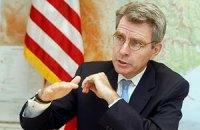 Посольство США сокращает свою деятельность в Украине
