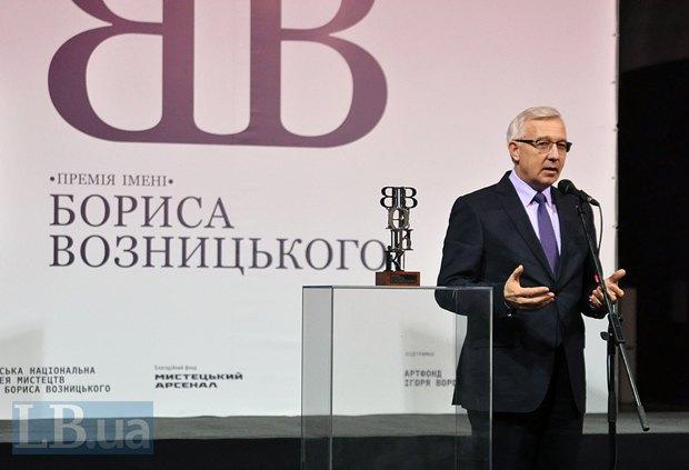 Министр культуры Леонид Новохатько