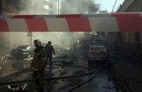 В Ростове-на-Дону сгорел 10-этажный отель, один человек погиб