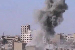 ВВС Сирии обстреляли пригород Дамаск в последний день перемирия