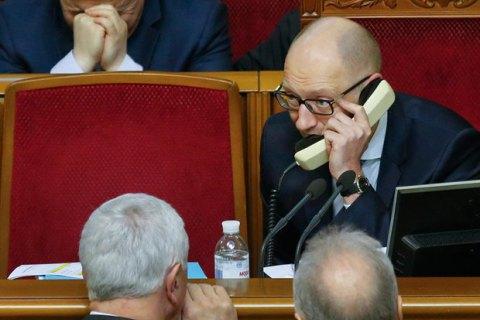 Яценюк обсудил с премьерами Казахстана и Азербайджана транзит в обход РФ