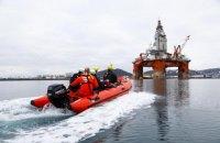 Грінпісівці піднялися на нафтову вежу в Норвегії