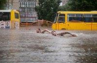 Спасатели откачали воду из затопленного Луцка