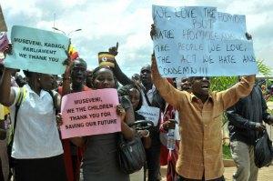 В Уганді пройшов молебень на честь закону, що забороняє гомосексуалізм