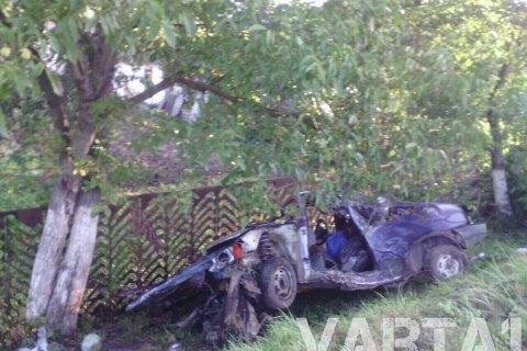 У результаті ДТП під Львовом загинули двоє військовослужбовців