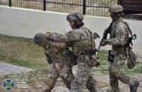 СБУ провела антитерористичні навчання поблизу Маріуполя