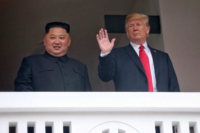 Дональд Трампа и Ким Чен Ын во время встречи в Сингапуре, 12 июня, 2018.