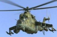 2 російські вертольоти Мі-24 порушили повітряний простір України