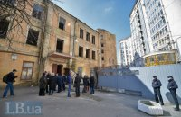 Біля Майдану почали руйнувати історичний будинок заради хмарочоса