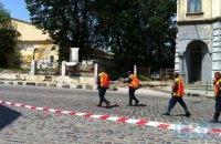 У центрі Харкова під час вибуху газу в наметі постраждав чоловік
